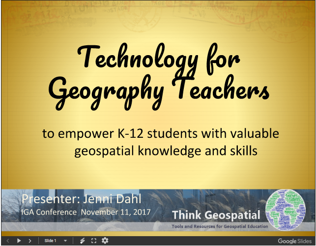 Technology for Geography Teachers